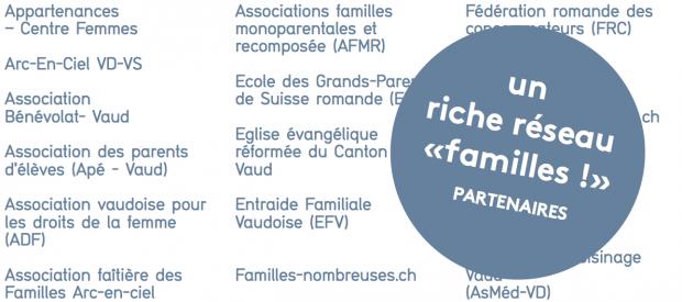 Un riche réseau «familles» (Vaud)