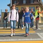 Sur le chemin de l'école…