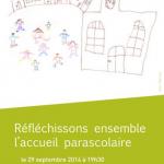 """""""Réfléchissons ensemble le parascolaire"""" (AvenirSocial, lundi 29 sept)"""