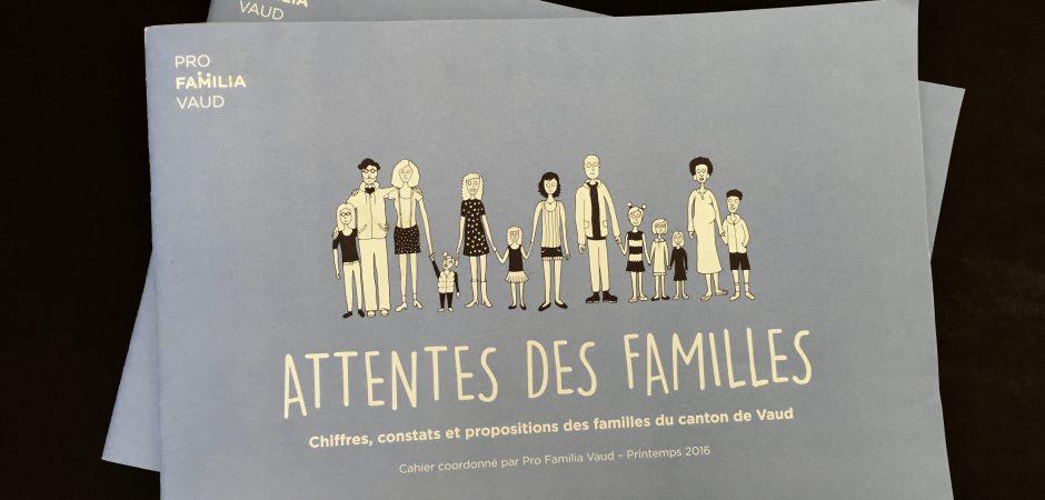 Attentes des familles – Commander le cahier