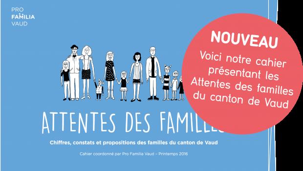 """Publication de notre cahier """"Attentes des familles"""""""