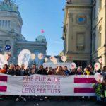 Consultation fédérale sur l'avant-projet de mariage pour toutes et tous